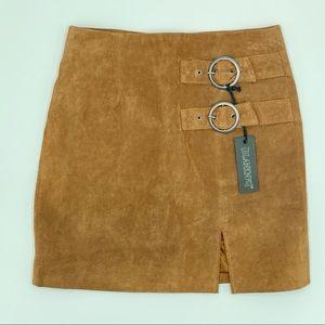 Blank NYC Suede Mini Skirt